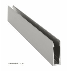 Glassline Garde-corps en verre CORE - 3000mm - TOP 3