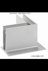 Glassline Glasbalustrade core hoek 90° - TOP 2