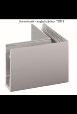 Glassline Angle 90° core garde-corps  - TOP 3