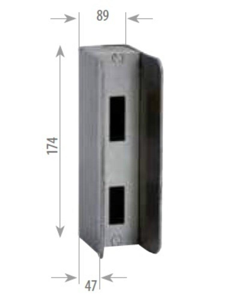 slotkast voor elektrisch slot