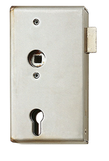Triebenbacher slotkast verzinkt met V2A slot