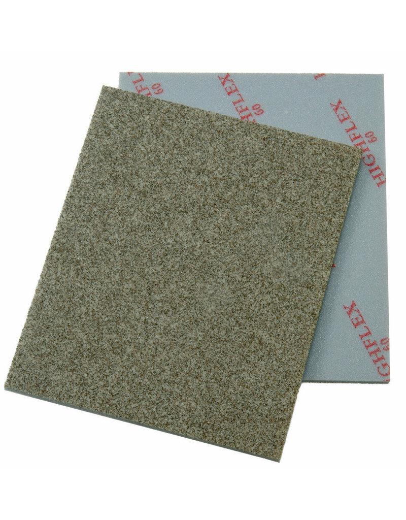 Cibo Hi-flex pads - sous-couche de mousse très fine avec grains de ponçage sur une face