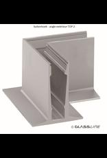 Glassline Angle 90° core garde-corps - TOP 2