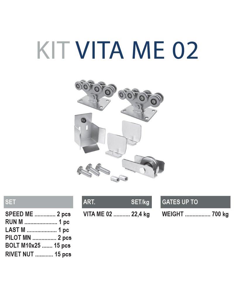 CAIS Cantilever set ME - 700kg  - sans profils de guidage