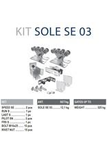 CAIS Cantilever set SE - 325kg - sans profils de guidage