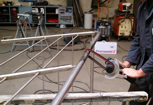 Finition des assemblages de tuyaux fermés