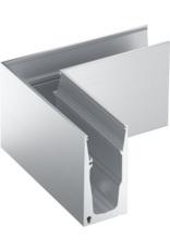 Glassline Angle 90° HYBRID garde-corps  - TOP 4