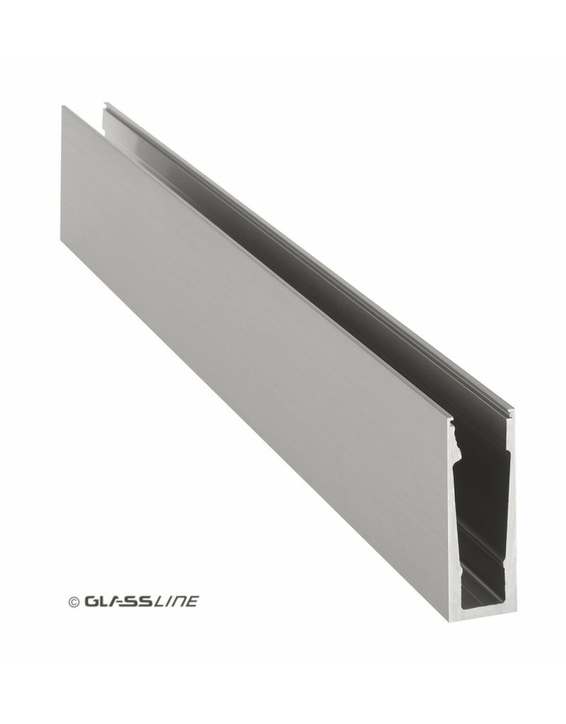 Glassline Garde-corps en verre Core - 3000mm - TOP 4
