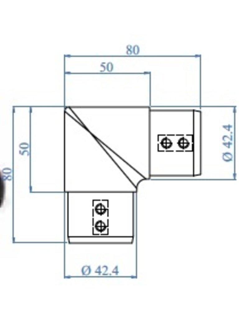 I AM Design LED buisverbinder - 90°
