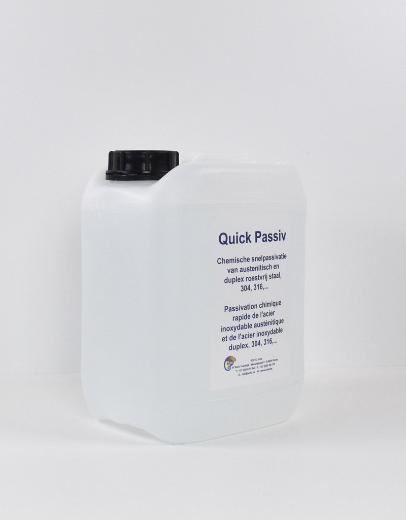Quick passiv produit de passivation 5L
