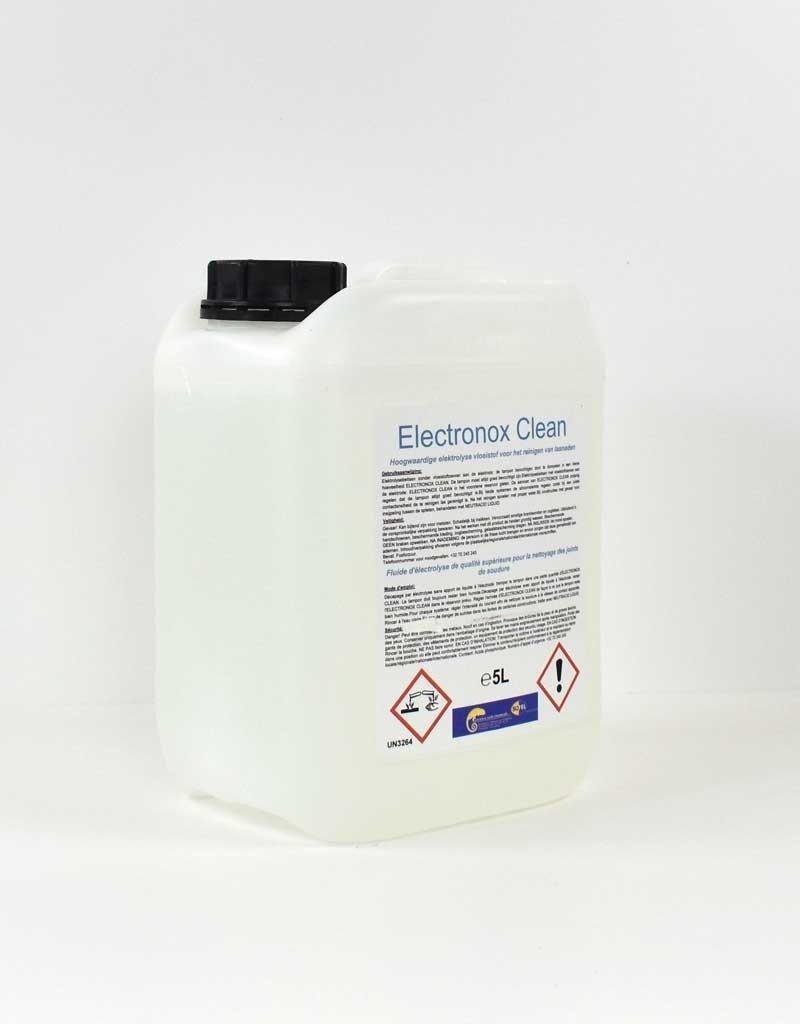 Sofel Electronox clean élimine le film d'oxyde et les résidus légers sur les surfaces métalliques. <Br> La surface en acier inoxydable est également immédiatement passivée. <Br> Nettoyage des soudures sur la surface de l'acier inoxydable/ALU