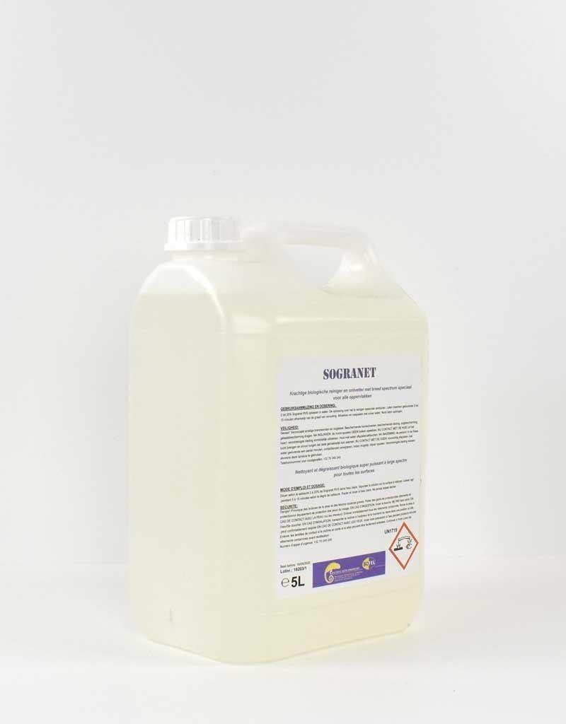 Sogranet reiniger en ontvetter 5L