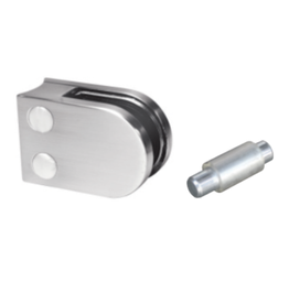 Rinox pince à verre V2A / V4A / zamac - 50x40mm pour verre 6 - 10.76mm