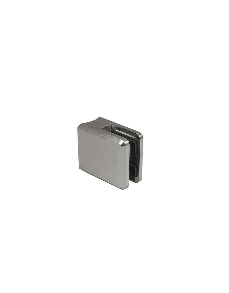 Pauli & Sohn pince à verre zamac - 48x45x27mm pour verre 6 - 12.76mm / joints inclus