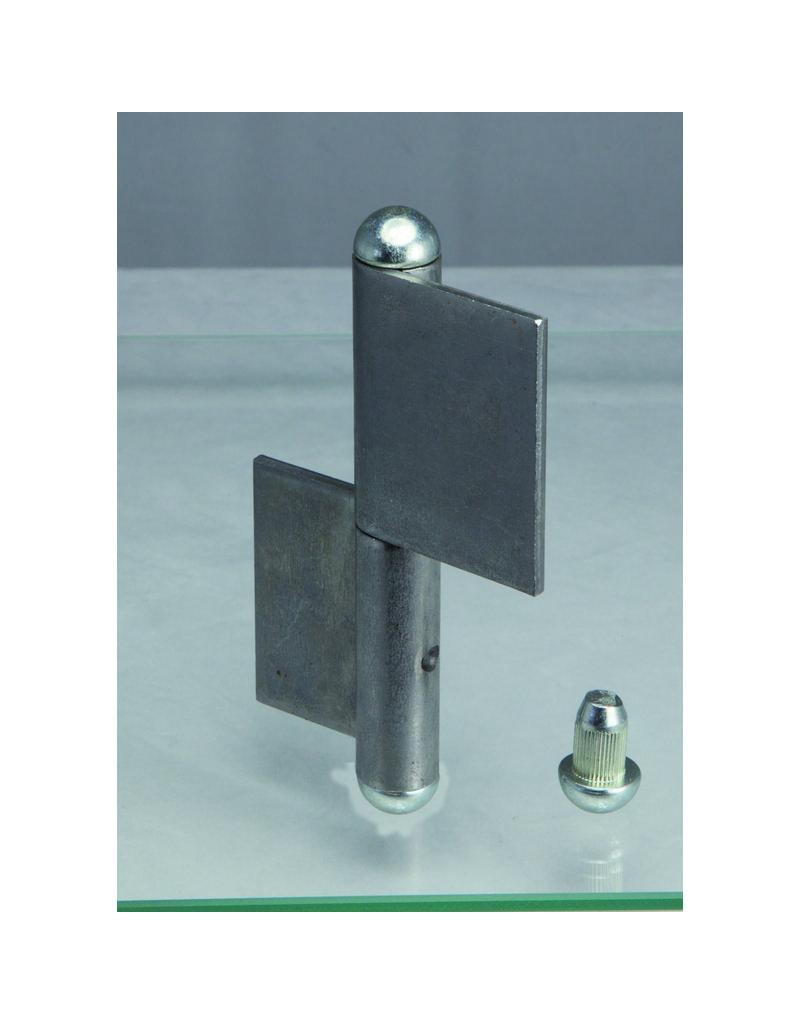 Deutsche Metall paumelle à souder galvanisé
