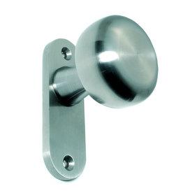 Deutsche Metall deurknop massief V2A - L/R