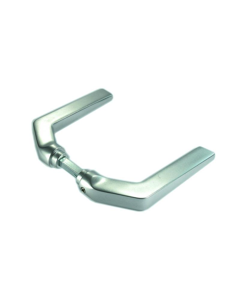 Deutsche Metall poignée de porte pair alu - G/D utilisable