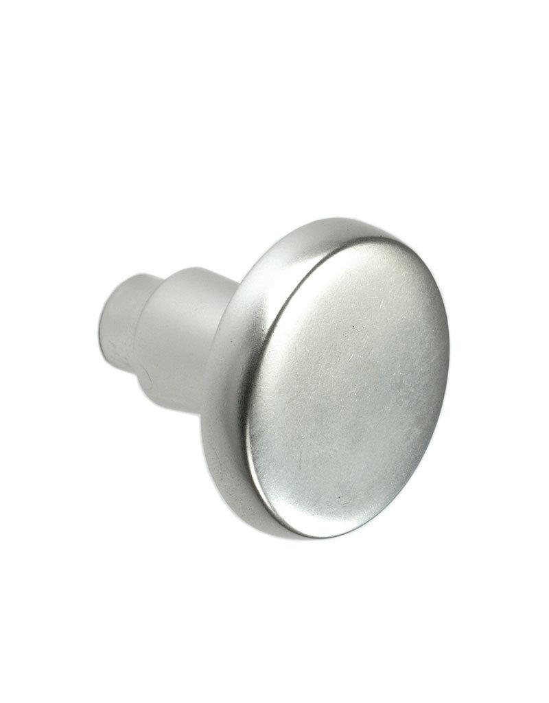 Deutsche Metall deurknop alu voor stift 8x8mm