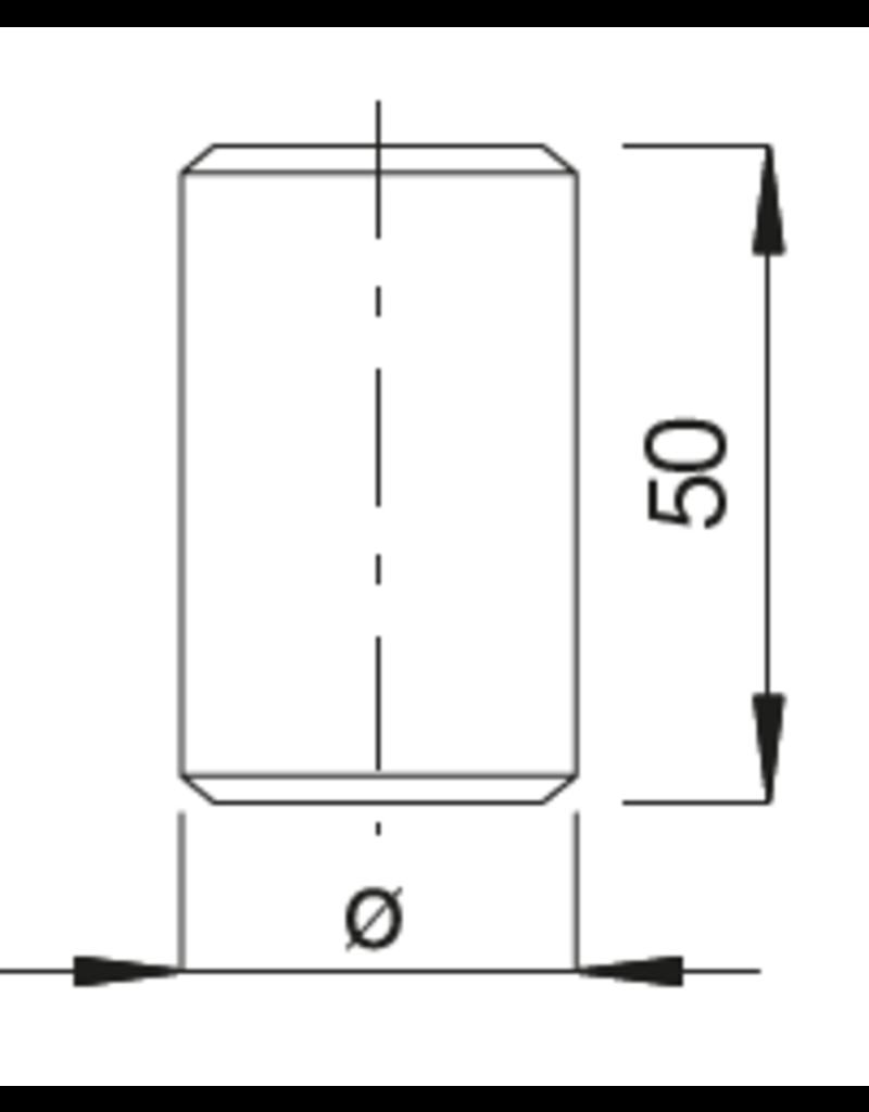 Deutsche Metall laselement voor kraagbevestiging