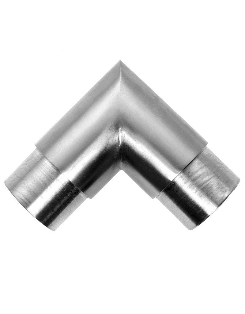 Deutsche Metall Verbindingsstuk geslepen 90° V2A of V4A