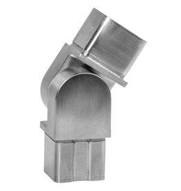 Deutsche Metall Verbindingsstuk verstelbaar geslepen V2A