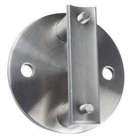 Deutsche Metall wandbevestiging V2A - 100x6mm