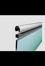 I AM Design LED handleuning geborsteld U profiel 24x24mm
