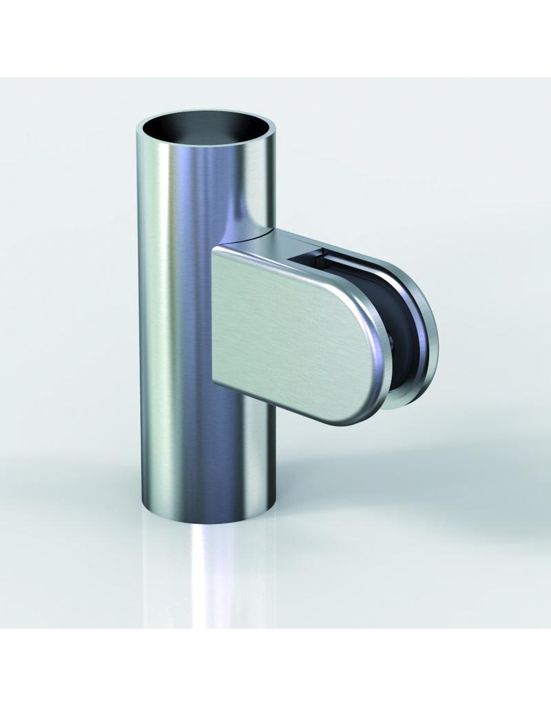 Pauli & Sohn glasklem zink - 63x45x28mm voor glas 12 - 12.76mm / rubbers inclusief