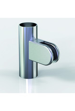 Pauli & Sohn pince à verre V2A - 63x45x28mm pour verre 12 - 12.76mm / joints inclus