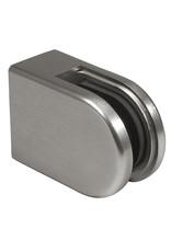 Pauli & Sohn glasklem V2A - 63x45x28mm voor glas 10 - 10.76mm / rubbers inclusief