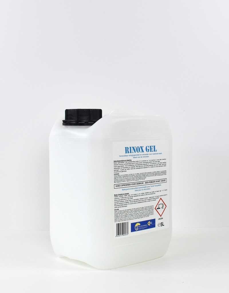 Renovatie van roest op RVS |Rinox gel