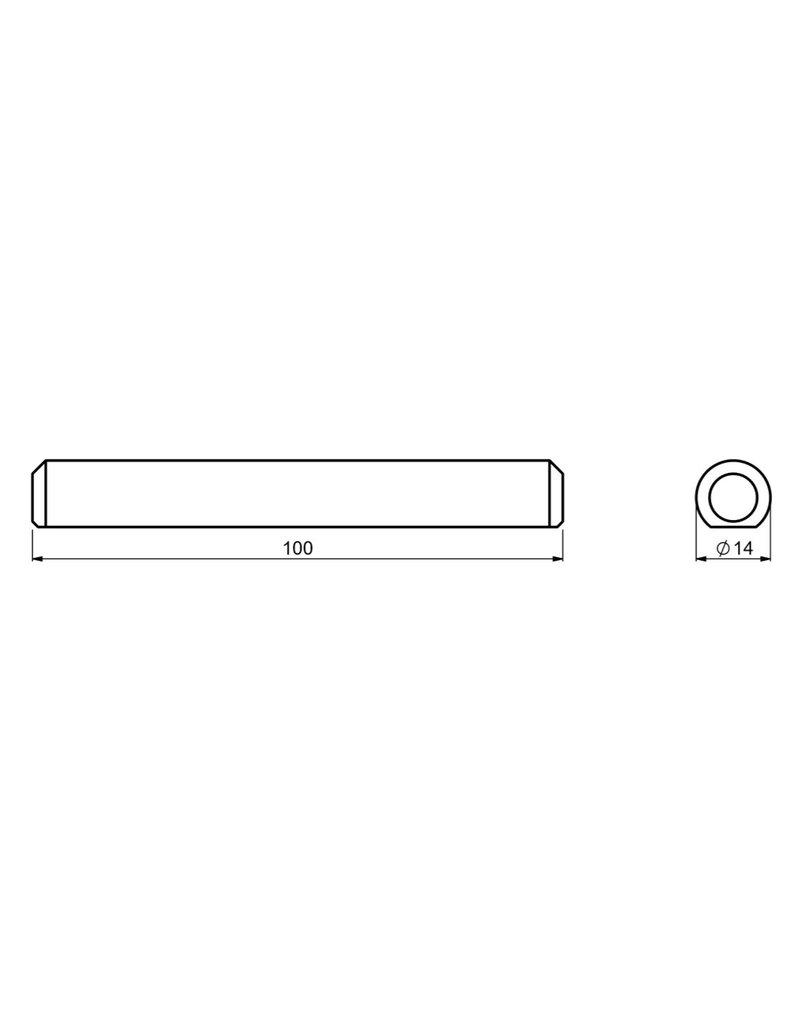 CAIS PIN ROAD - goupille de fixation pour guide en O