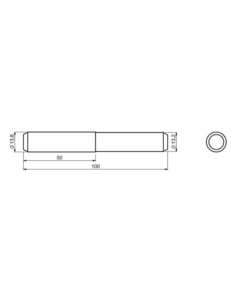 CAIS PIN VECTOR - verbindingspin voor VECTOR rail voor schuifpoorten