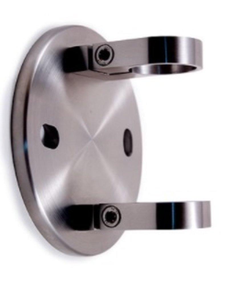 Triebenbacher wandbevestiging V2A voor ronde buis 42.4mm