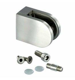 glasklem zink RVS look 63x45x30mm 42.4mm