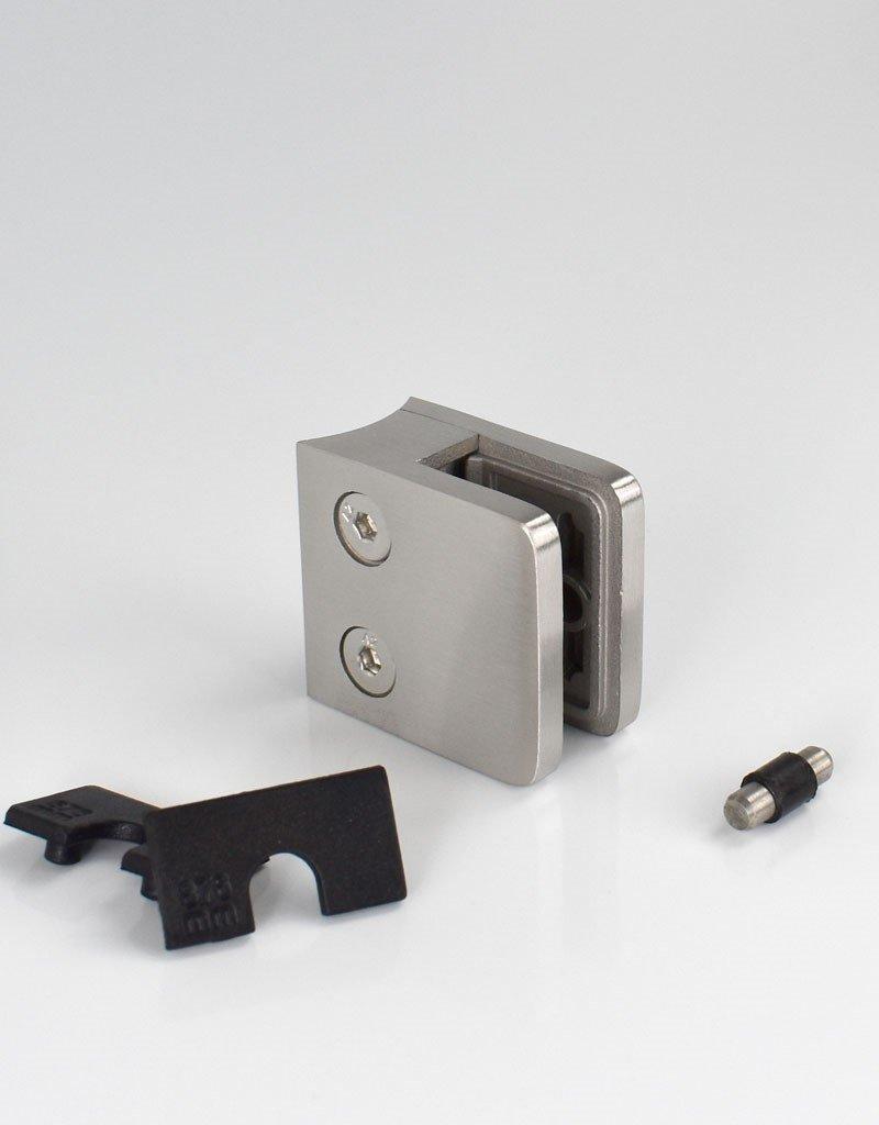 Rinox glasklem V2A- 45x45mm 33.7mm