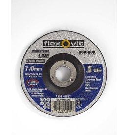 Flexovit Afbraamschijf staal - inox 125x7mm