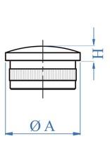 I AM Design Bouchon creux oval