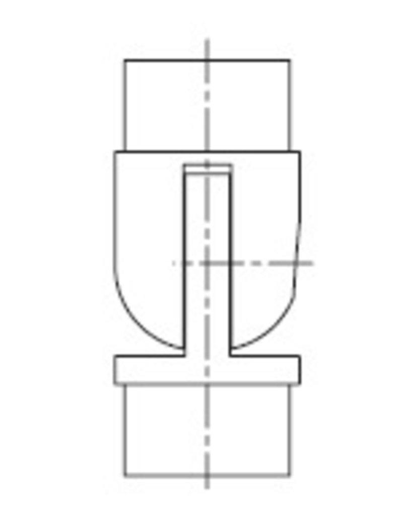 I AM Design Coude réglable poli V2A  0°-90° G320