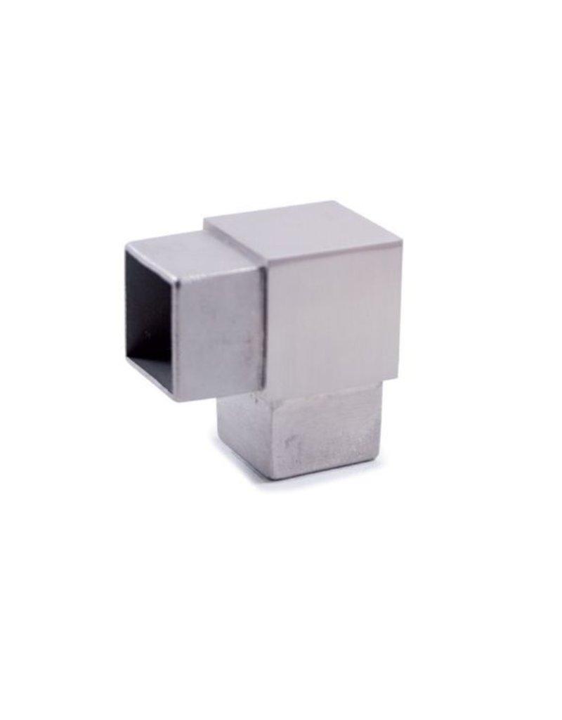 I AM Design Raccord 90° V2A - 40x40x2mm
