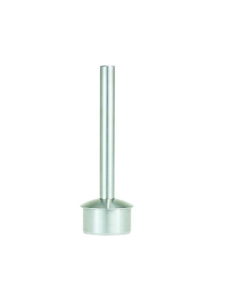 Support main courante V2A modèle de soudage - 33.7 / 42.4mm