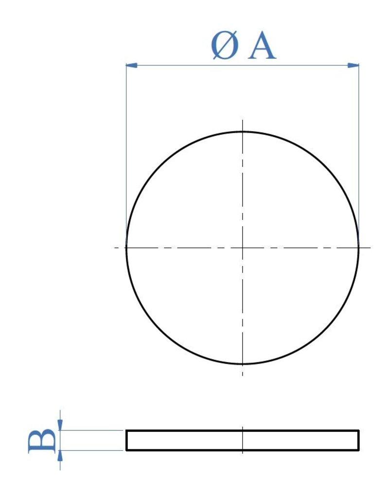 I AM Design Bodemplaat geslepen