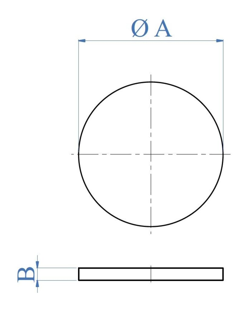 I AM Design Platine de base polie