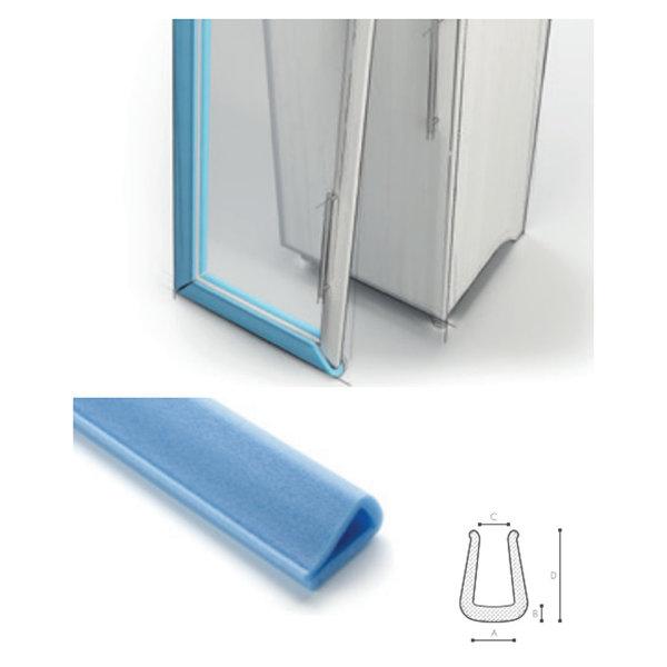 Afdekmateriaal Foam beschermprofiel U 30-40/70 (long legs) - Doos 50 stuks | schuimprofiel | kozijnbeschermer