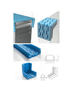 Afdekmateriaal Foam beschermprofiel U 100-120 STRETCH - Doos 22 stuks