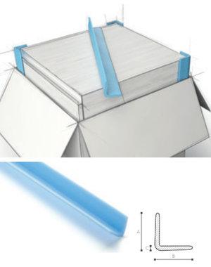 Afdekmateriaal Foam beschermprofiel L 75x75-10 - Doos 105 stuks