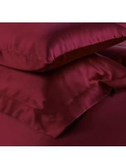 Seiden Kissenbezüge 19mm weinrot