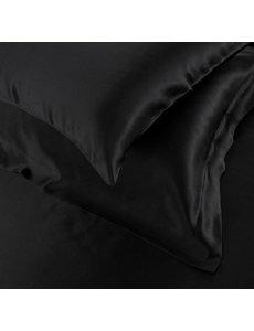 Seiden Kissenbezüge 19mm schwarz