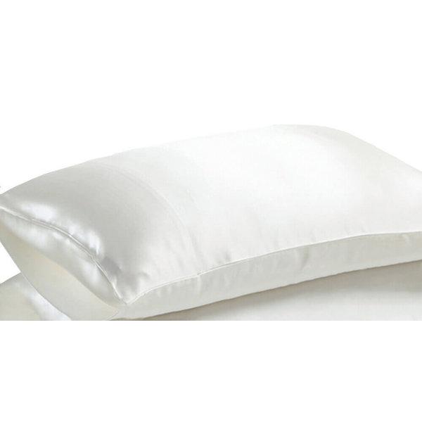 Seiden Kissenbezüge 22momme elfenbeinweiß 100% Seide