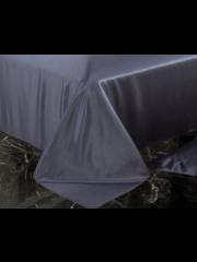 Seiden Bettlaken 22mm anthrazit